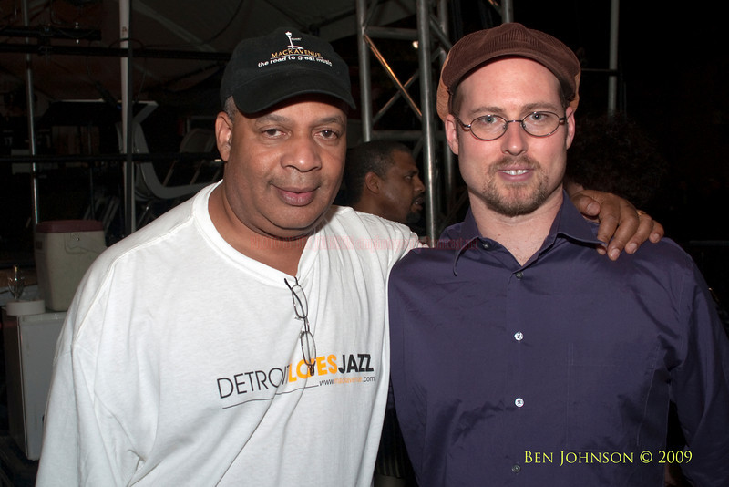 2009 Detroit Jazz Festival Photos - Al Pryor and George Colligan backstage at The 30th Annual Detroit Jazz Festival held September 4-7, 2009 at Hart Plaza in downtown Detroit, Michigan