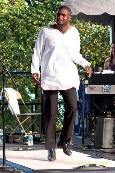 2009 Detroit Jazz Festival Photos - Maurice Chesnut performing with The Geri Allen Quartet at The 30th Annual Detroit Jazz Festival held September 4-7, 2009 at Hart Plaza in downtown Detroit, Michigan