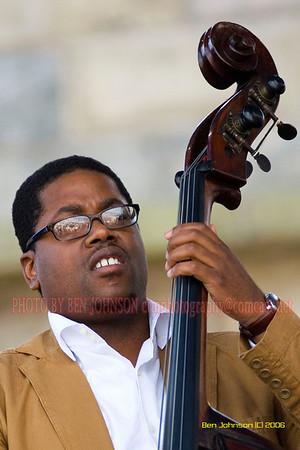 Vincente Archer - the 2006 JVC Newport Jazz Festival