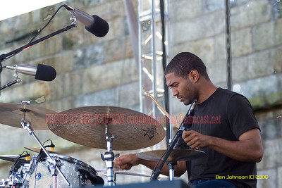 Damion Reid -  the 2006 JVC Newport Jazz Festival