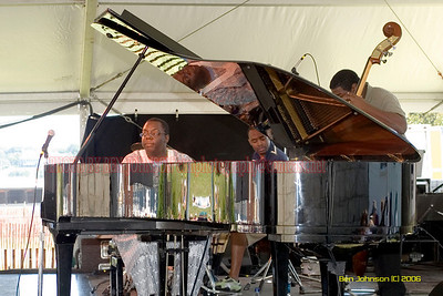 Cyrus Chesnut - the 2006 JVC Newport Jazz Festival