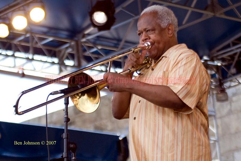 Slide Hampton - Performances at the 2007 JVC Newport Jazz Festival