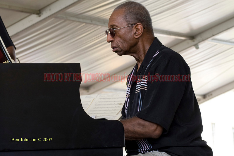 Ronnie Mattews<br /> Performances at the 2007 JVC Newport Jazz Festival