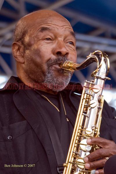 James Moody - Performances at the 2007 JVC Newport Jazz Festival