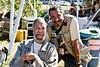 Drummer Ben Riley & Photographer Ben Johnson<br /> The 2007 JVC Newport Jazz Festival