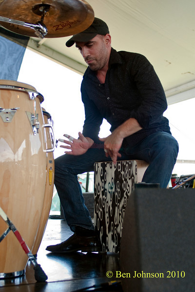 Paulo Stagnaro photo - performing at The 2010 Carefusion Jazz Festival in Newport, Rhode Island at Fort Adams State park. The 56th anniversary of the Jazz Festival produced by Founder George Wein