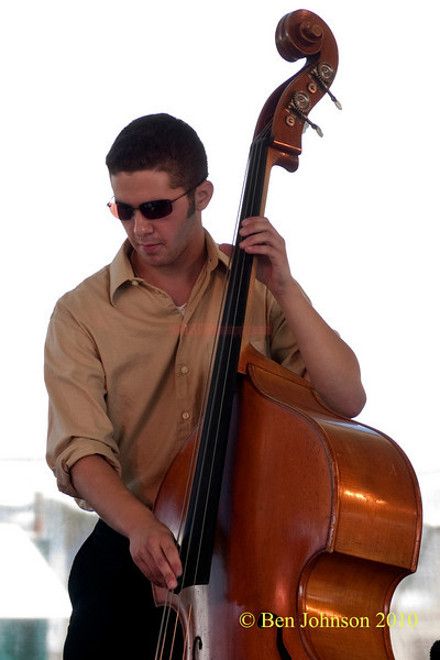 Greg Chaplin photo - performing at The 2010 Carefusion Jazz Festival in Newport, Rhode Island at Fort Adams State park. The 56th anniversary of the Jazz Festival produced by Founder George Wein