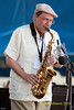 Bobby Porcelli photo - with The Afro latin Jazz Orchestra - performing at The 2010 Carefusion Jazz Festival in Newport, Rhode Island at Fort Adams State park. The 56th anniversary of the Jazz Festival produced by Founder George Wein
