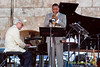 Dave Brucbeck and Wynton Marsalis photo - performing at The 2010 Carefusion Jazz Festival in Newport, Rhode Island at Fort Adams State park. The 56th anniversary of the Jazz Festival produced by Founder George Wein