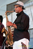 with Conrad Herwig - performing at The 2010 Carefusion Jazz Festival in Newport, Rhode Island at Fort Adams State park. The 56th anniversary of the Jazz Festival produced by Founder George Wein
