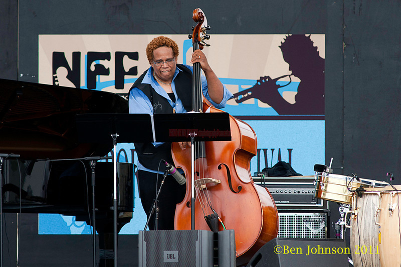 John Benitez performing at  the 2011 Newport Jazz Festival, August 6, 2011