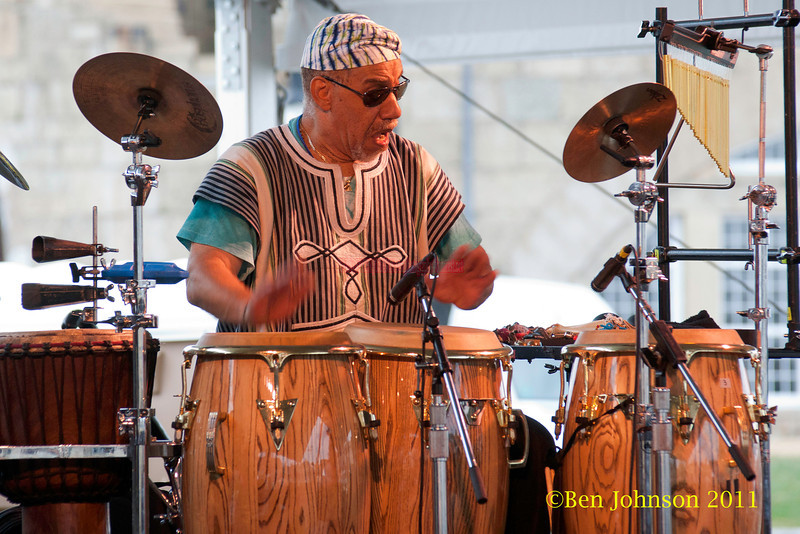 Neil Clarke performing at  the 2011 Newport Jazz Festival, August 6, 2011