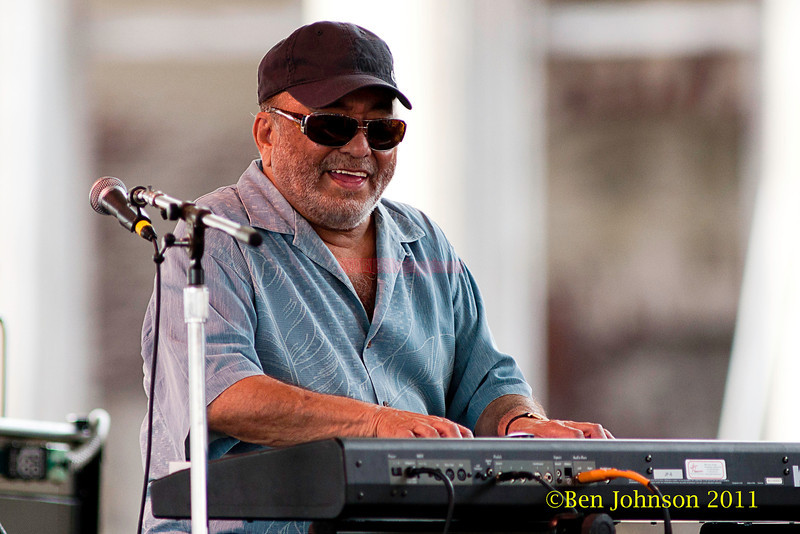 Eddie Palmieri performing at  the 2011 Newport Jazz Festival, August 6, 2011