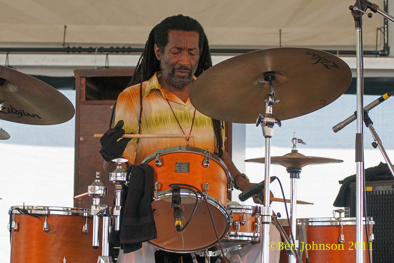 Leonard Clyde King Jr. photo - The 2012 Newport Jazz Festival, August 3-7, 2012 at The Tennis Hall of Fame and Fort Adams State Park in Newport Rhode Island.