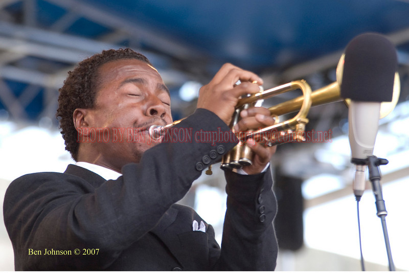 Roy Hargrove<br /> Performances at the 2007 JVC Newport Jazz Festival