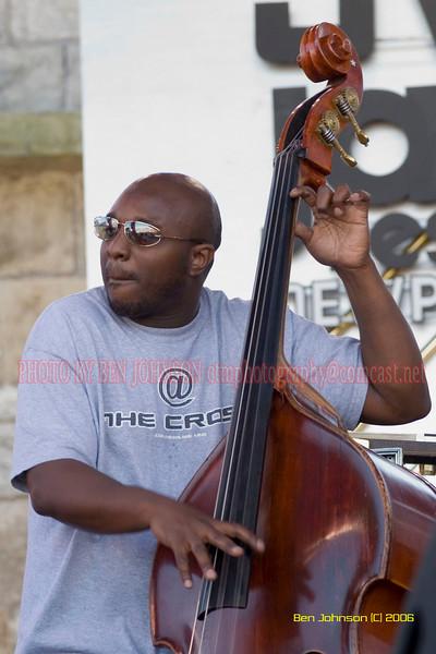 Charnette Moffett - the 2006 JVC Newport Jazz Festival