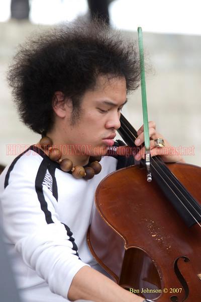 Bassist Dana Leong<br /> Performances at the 2007 JVC Newport Jazz Festival