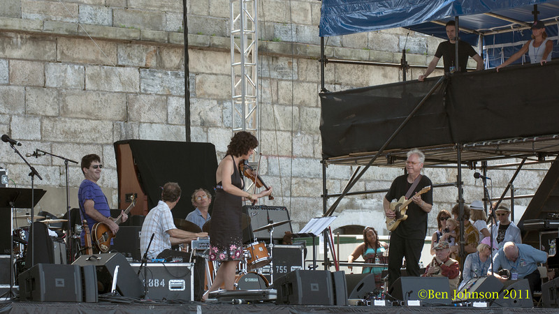 Bill Frissel Quintet photo - The 2012 Newport Jazz Festival, August 3-7, 2012 at The Tennis Hall of Fame and Fort Adams State Park in Newport Rhode Island.