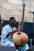 Vacouba Sissoko performing at the 2011 Newport Jazz Festival, August 6, 2011
