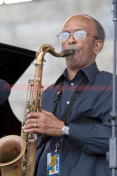 Jimmy Heath - Performances at the 2007 JVC Newport Jazz Festival