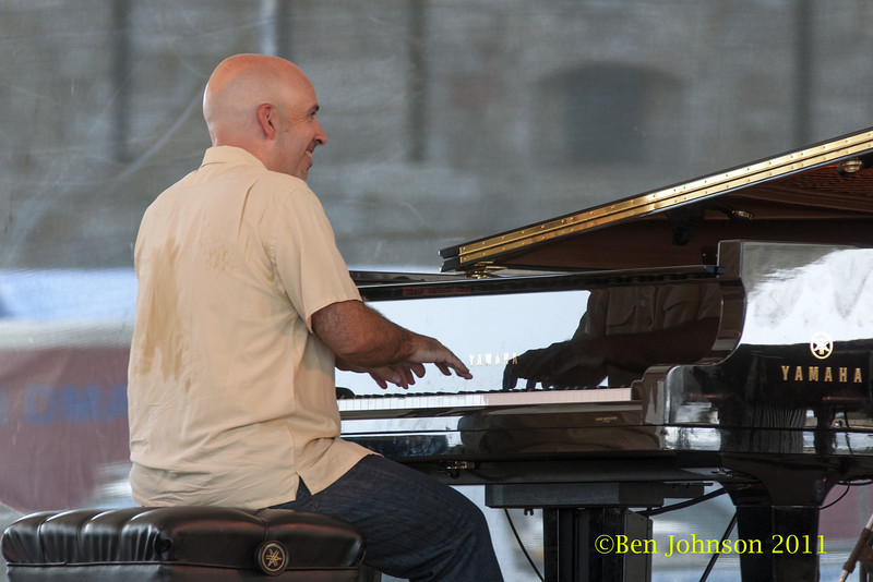 Peter Martin photo - The 2012 Newport Jazz Festival, August 3-7, 2012 at The Tennis Hall of Fame and Fort Adams State Park in Newport Rhode Island.