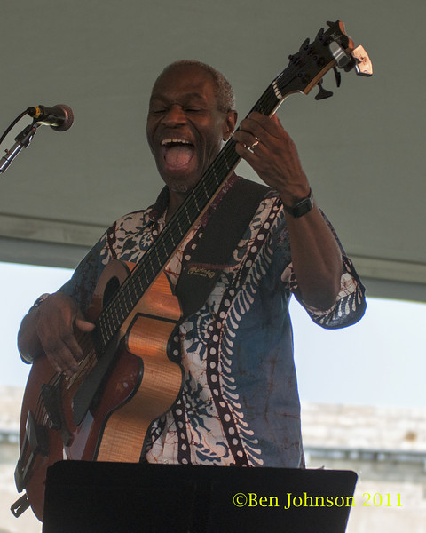 Jerome Harris photo - The 2012 Newport Jazz Festival, August 3-7, 2012 at The Tennis Hall of Fame and Fort Adams State Park in Newport Rhode Island.