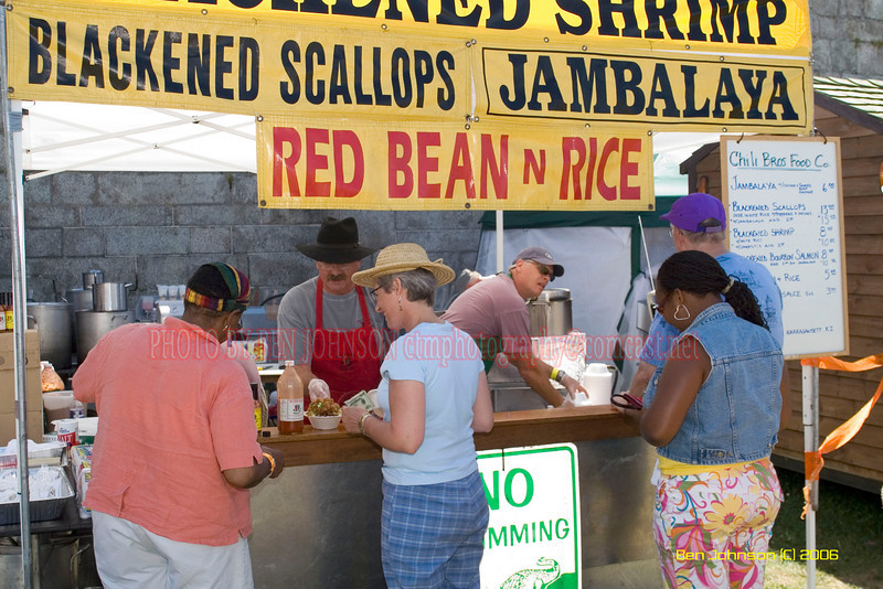 The Chili Brothers concession at the 2006 JVC Newport Jazz Festival