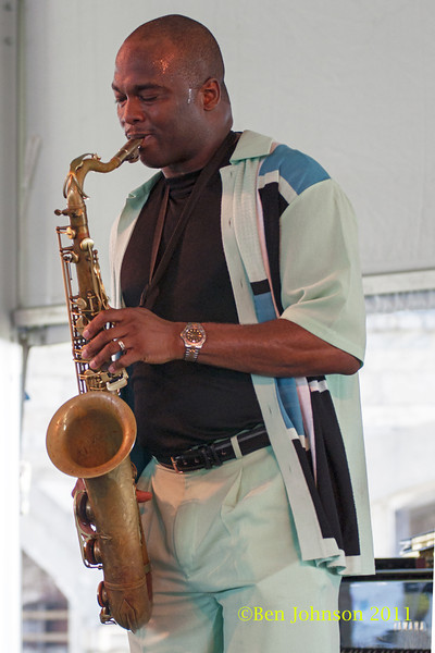 James Carter photo - The 2012 Newport Jazz Festival, August 3-7, 2012 at The Tennis Hall of Fame and Fort Adams State Park in Newport Rhode Island.