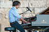 Jamie Cullum photo - performing at The 2010 Carefusion Jazz Festival in Newport, Rhode Island at Fort Adams State park. The 56th anniversary of the Jazz Festival produced by Founder George Wein