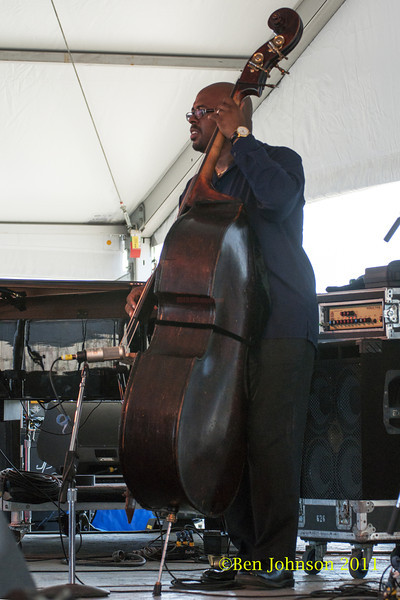 Christian McBride photo - The 2012 Newport Jazz Festival, August 3-7, 2012 at The Tennis Hall of Fame and Fort Adams State Park in Newport Rhode Island.