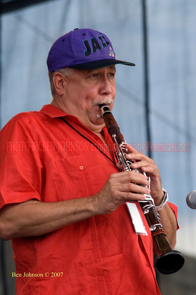 Paquito D'Rivera - Performances at the 2007 JVC Newport Jazz Festival