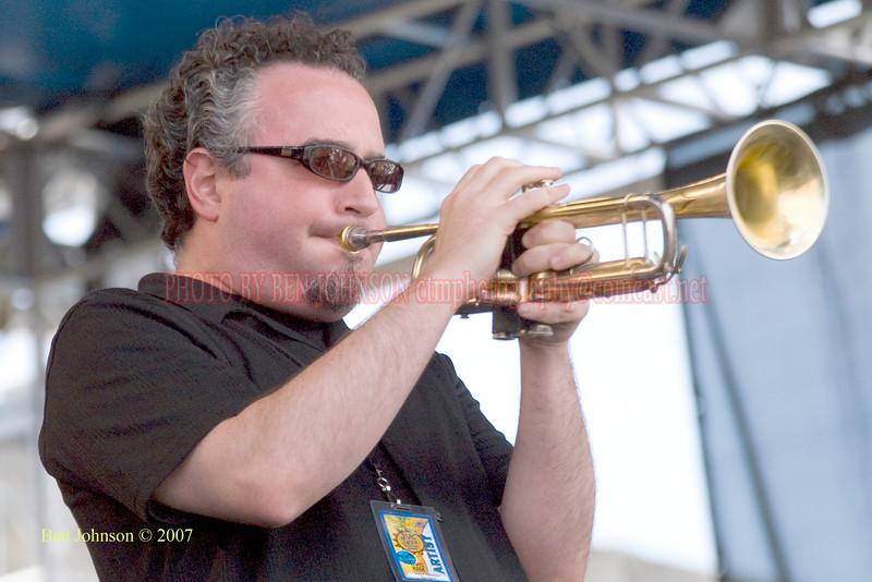 Performances at the 2007 JVC Newport Jazz Festival