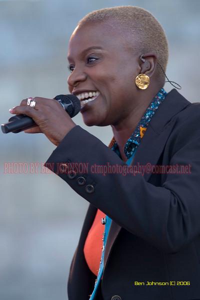 Angelique Kidjo - the 2006 JVC Newport Jazz Festival