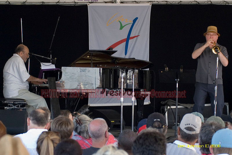 Eddie Palmieri and Brian Lynch- the 2006 JVC Newport Jazz Festival