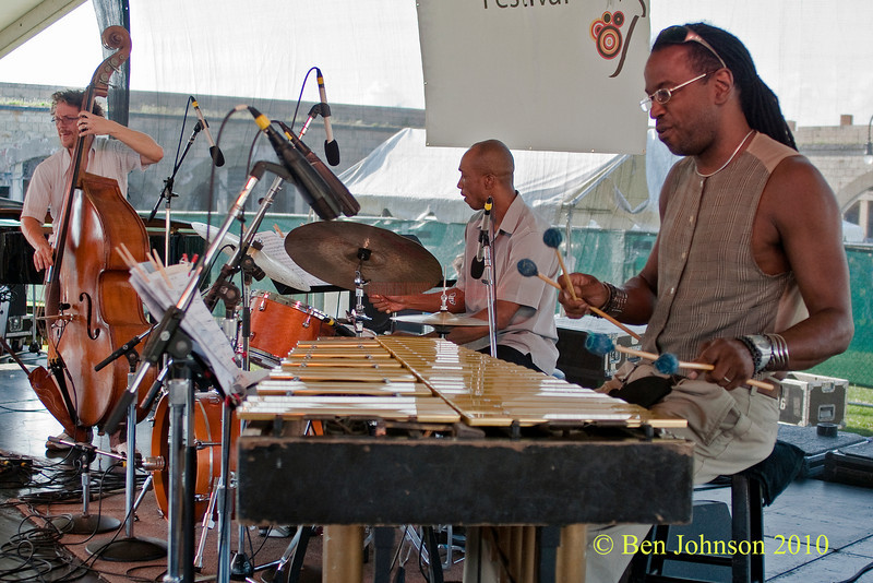 Bill Ware photo - performing at The 2010 Carefusion Jazz Festival in Newport, Rhode Island at Fort Adams State park. The 56th anniversary of the Jazz Festival produced by Founder George Wein