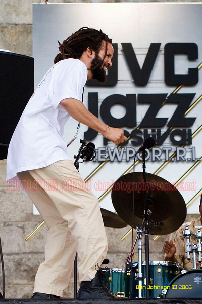 Savion Glover - the 2006 JVC Newport Jazz Festival