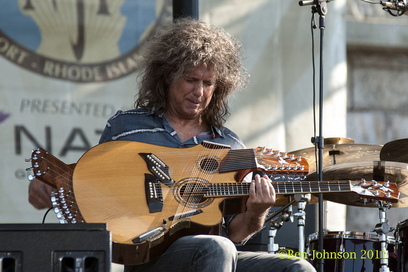 Pat Metheny photo - The 2012 Newport Jazz Festival, August 3-7, 2012 at The Tennis Hall of Fame and Fort Adams State Park in Newport Rhode Island.