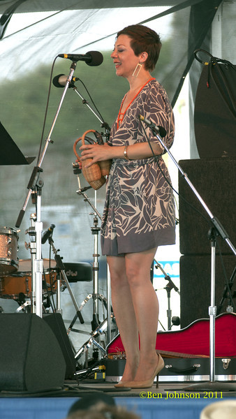 Gretchen Parlato photo - The 2012 Newport Jazz Festival, August 3-7, 2012 at The Tennis Hall of Fame and Fort Adams State Park in Newport Rhode Island.