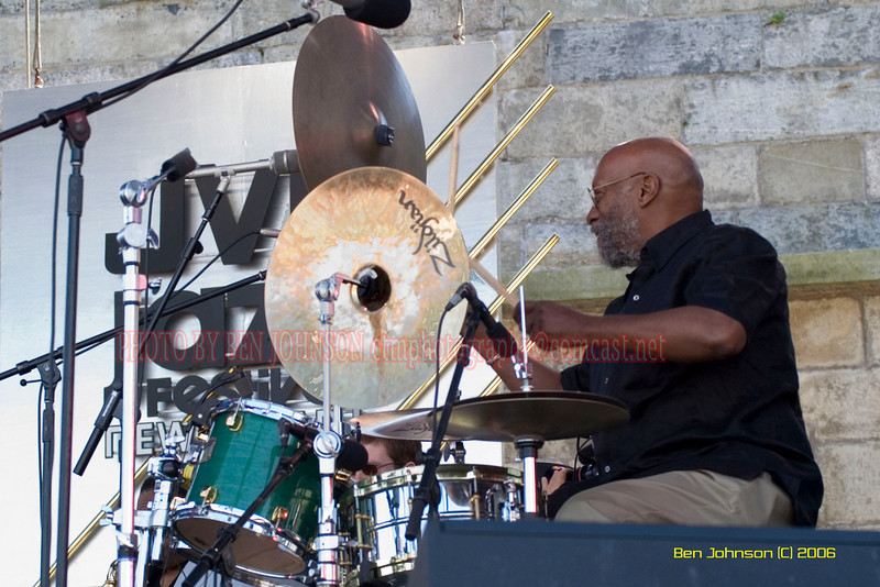 Eric Gravatt -  the 2006 JVC Newport Jazz Festival