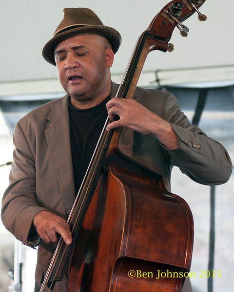 Peter Washington photo - The 2012 Newport Jazz Festival, August 3-7, 2012 at The Tennis Hall of Fame and Fort Adams State Park in Newport Rhode Island.