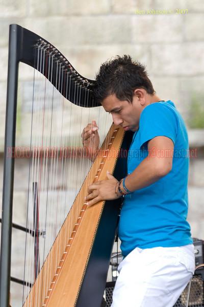Edmar Casteneda - Performances at the 2007 JVC Newport Jazz Festival