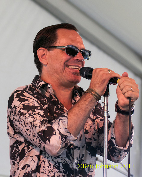 Kurt Elling photo - The 2012 Newport Jazz Festival, August 3-7, 2012 at The Tennis Hall of Fame and Fort Adams State Park in Newport Rhode Island.Island.