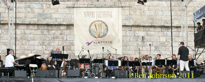 Gil Evans Centennial Project photo - The 2012 Newport Jazz Festival, August 3-7, 2012 at The Tennis Hall of Fame and Fort Adams State Park in Newport Rhode Island.