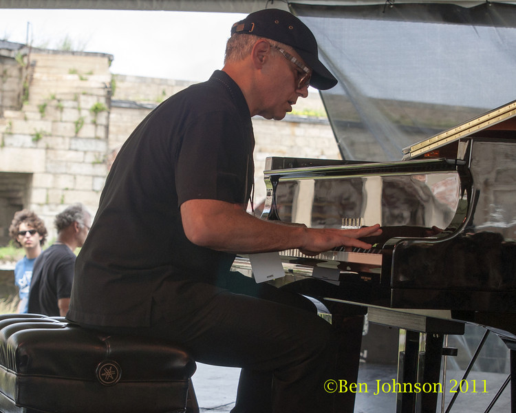 Laurence Hobgood photo - The 2012 Newport Jazz Festival, August 3-7, 2012 at The Tennis Hall of Fame and Fort Adams State Park in Newport Rhode Island.