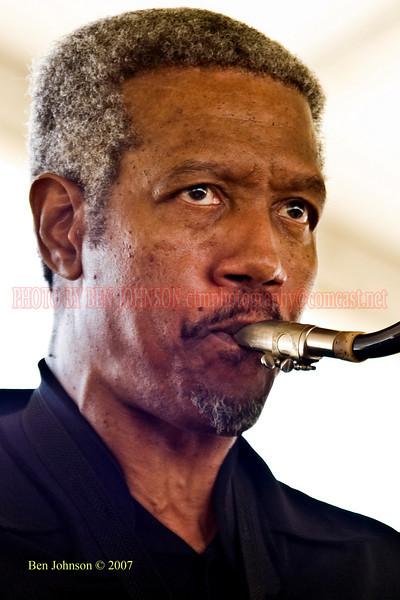 Saxophonist Billy Harper<br /> Performances at the 2007 JVC Newport Jazz Festival