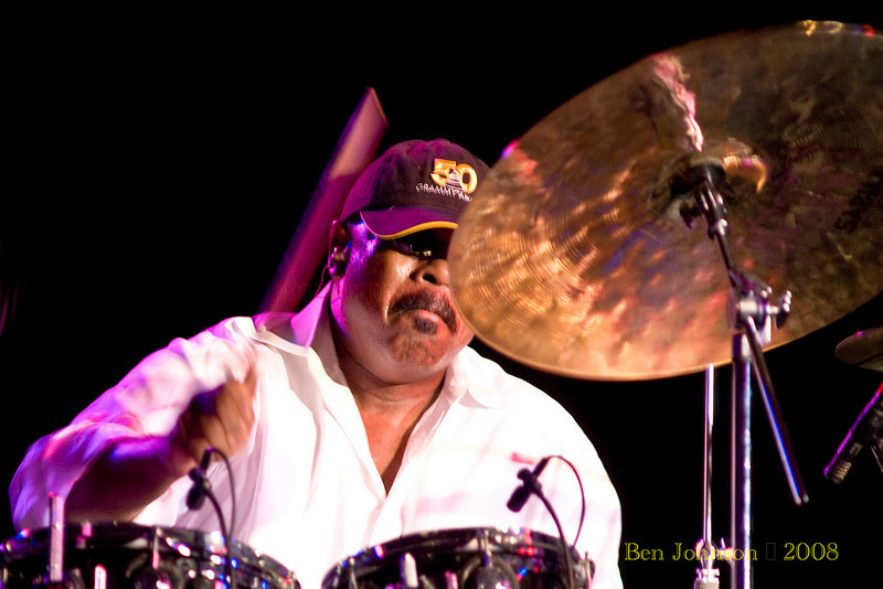 Harvey Mason  Photo - appearing with Fourplay at the 2008 Reboboth Beach Jazz Festival in Rehoboth Beach,