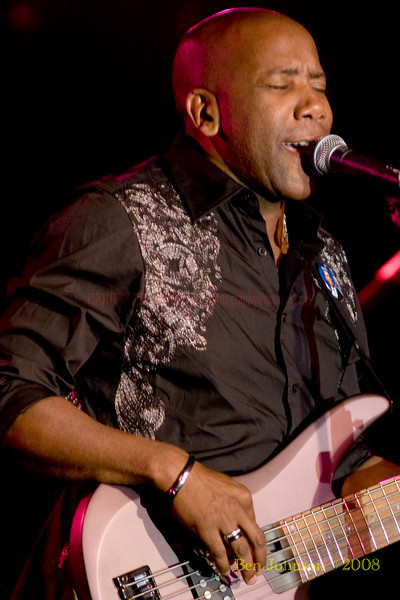 Nathan East  Photo - appearing with Fourplay at the 2008 Reboboth Beach Jazz Festival in Rehoboth Beach, DE