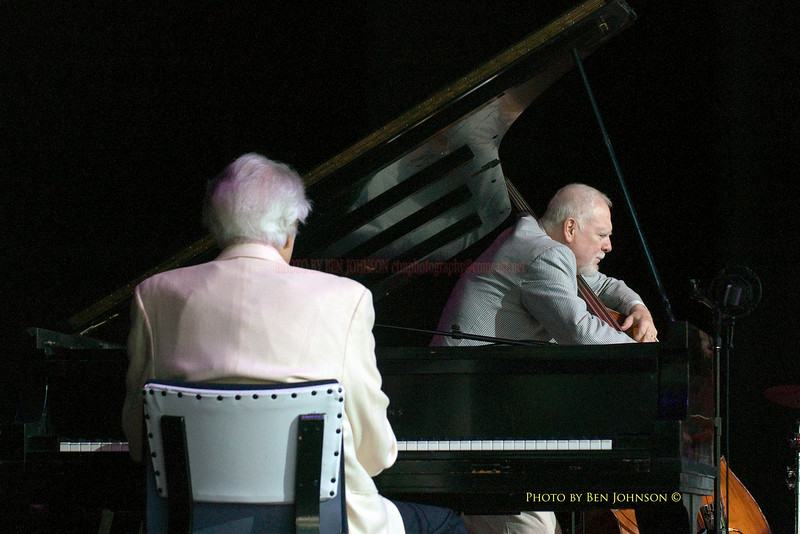 Dave Brubeck and Michael Moore Photo - Performing at the Saratoga Performing Arts Center's 32nd Annual Freihofer's Jazz Festival June 27 - 28, 2009