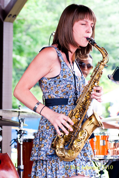 Hailey Niswanger photo- Performing at The 33rd ANNUAL FREIHOFER'S SARATOGA JAZZ FESTIVAL June 26 - 27, 2010, at The Saratoga Performing Arts Center in Saratoga, NY