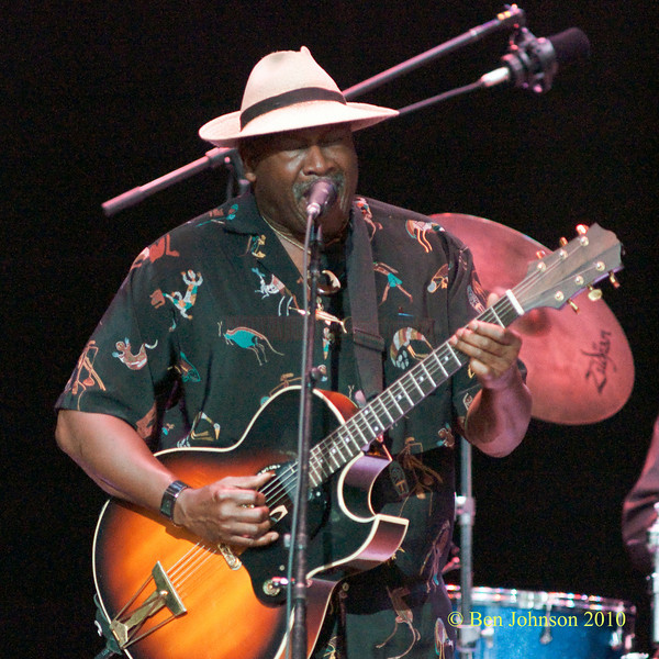 Taj Mahal photo - Performing at The 33rd ANNUAL FREIHOFER'S SARATOGA JAZZ FESTIVAL June 26 - 27, 2010, at The Saratoga Performing Arts Center in Saratoga, NY